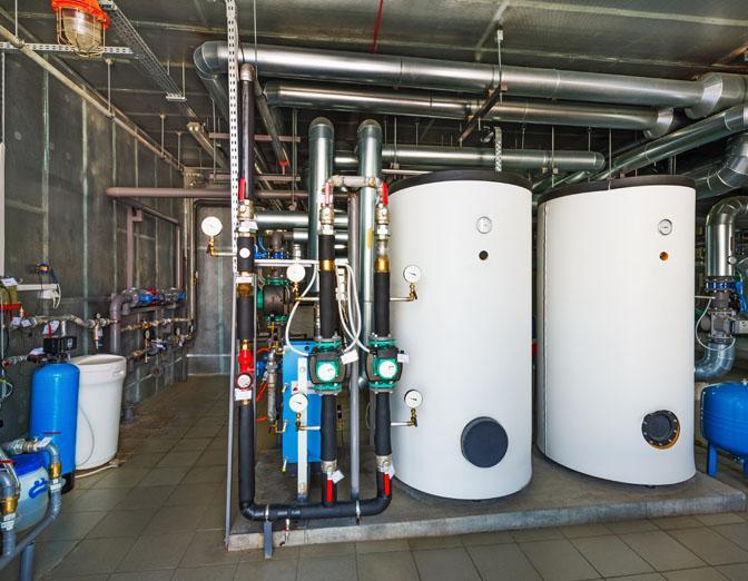 טיפול במערכות מים חמים